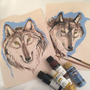 Wolf Portraits-Workshop